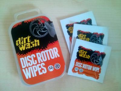 Dirt Wash Rotor Wipes