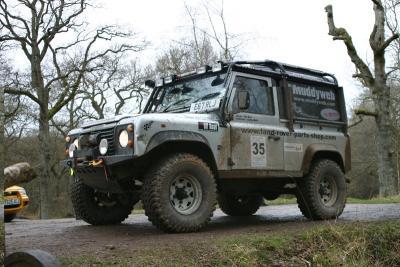 """Land Rover 90 V8 """"Tigger"""""""