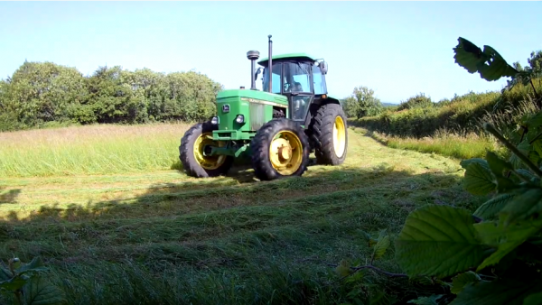 Haymaking in Dorset - Part 3