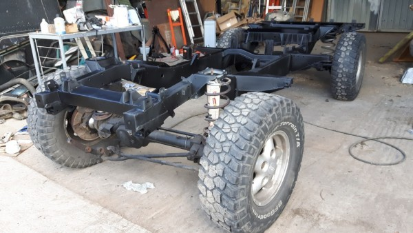 Repairing the 110 chassis