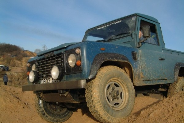 Off-Roading at Tixover Quarry
