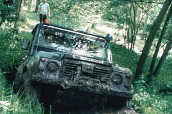 Eastnor Castle Off-Roading