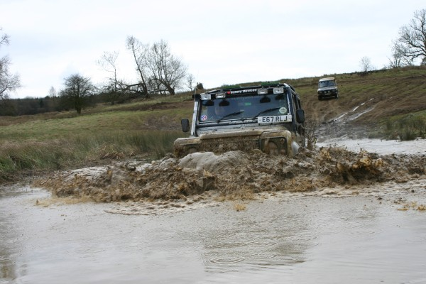 Off-Roading at Whaddon