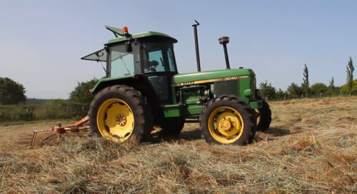 Haymaking in Dorset - Part 5