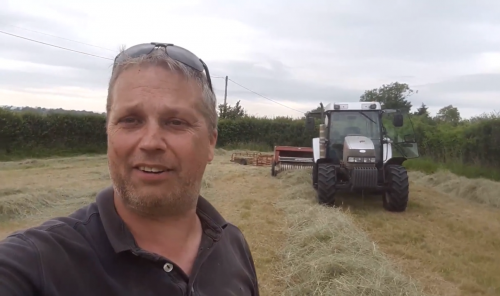 Haymaking in Dorset - Part 6