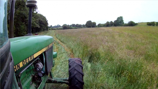 Haymaking in Dorset - Part 1
