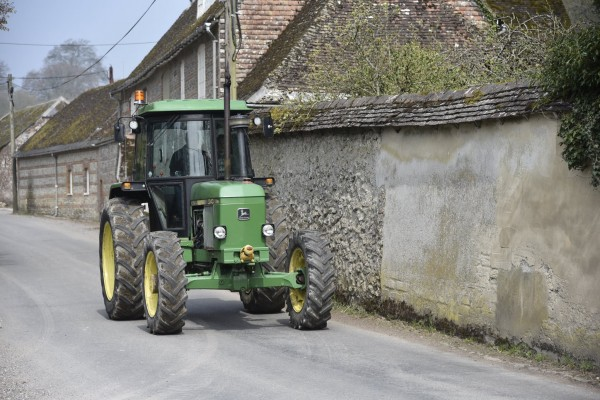 Three Okefords Tractor Run 2019