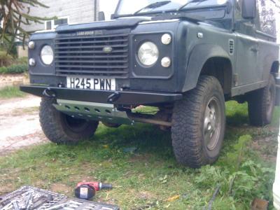 D44 front bumper